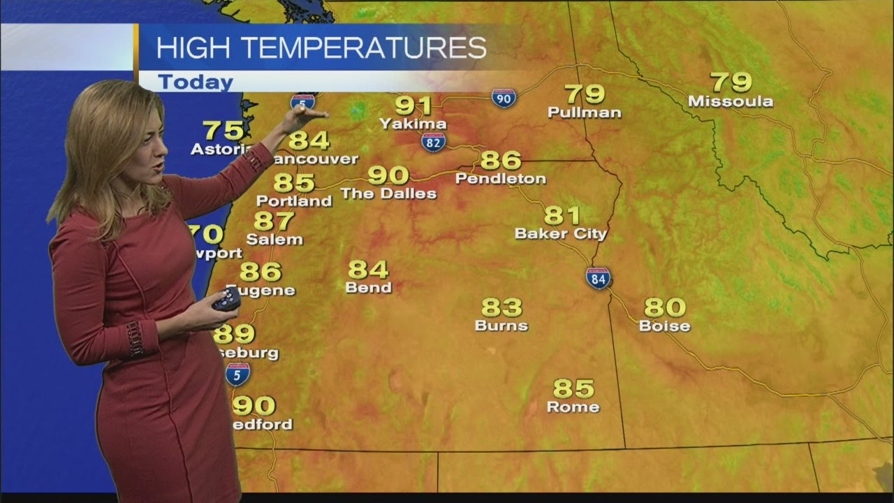 KOIN 6 5:30 Weather Forecast with Kristen Van Dyke Monday October 6, 2014