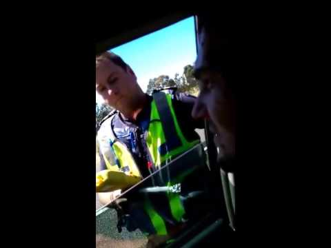 Thumbnail: Aussie Common Law Conspiratard Refuses Breath Test. Muh Almighty God!