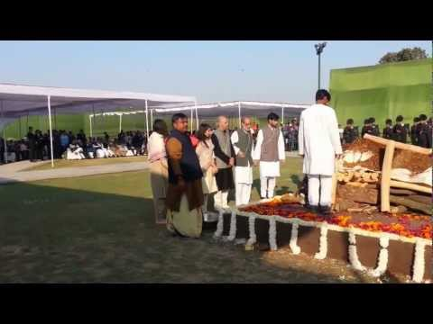Mr I K Gujral State funeral