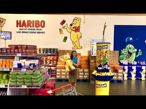 Мы в Магазине Haribo Это просто рай для любителей вкусняшек