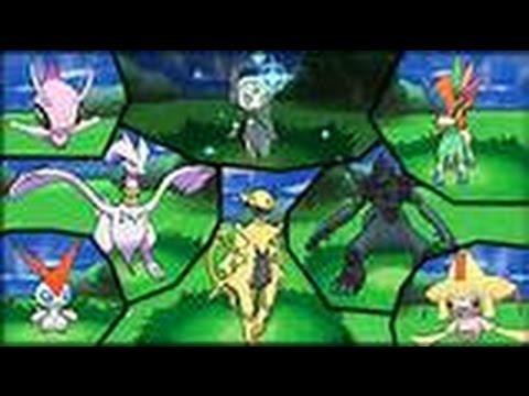 Comment avoir des shiny normaux et l gendaires dans - Pokemon x et y legendaire ...