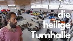 Eine Turnhalle voller Autoschätze - Die heiligen Hallen von Rennsporttechnik Münch