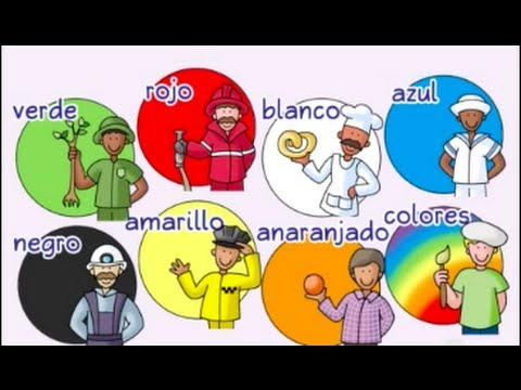 Colors, colors - ¡Colores, colores! - Calico Spanish Songs for Kids