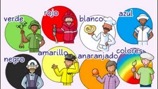 Repeat youtube video Colors, colors - ¡Colores, colores! - Calico Spanish Songs for Kids