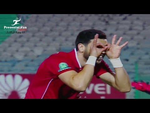 أهداف مباراة الأهلي 5 - 2 المقاولون العرب   الجولة الـ 23 الدوري المصري