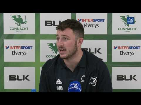 Connacht 11 Leinster 42 | Will Connors post-match reaction