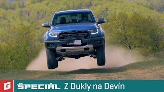 Ford Ranger Raptor - Z Dukly na Devín s Ďurom Koreňom - GARAZ.TV špeciál