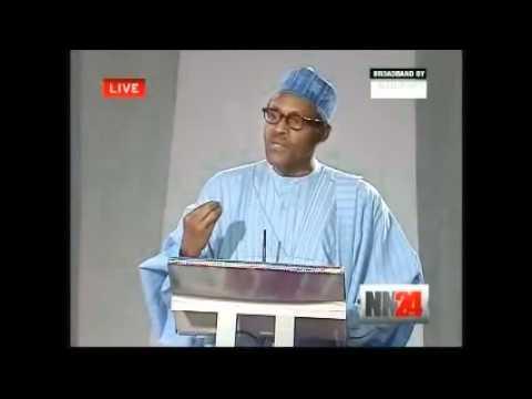 Nigerian 2011 Presidential Debate  Edited Full Version