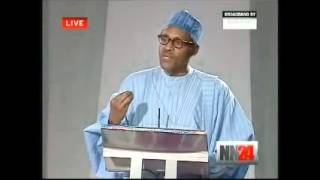 Nigerian 2011 Presidential Debate  Edited Full Version