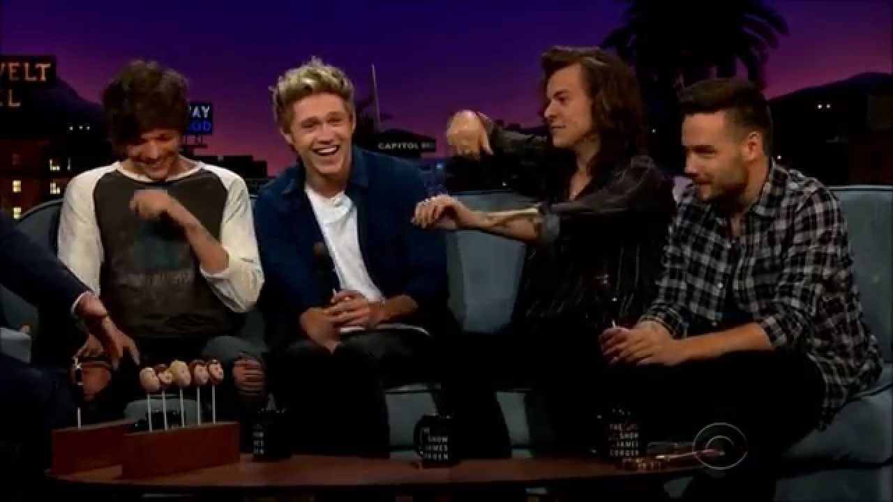 One Direction The Late Late Show With James Corden Vostfr