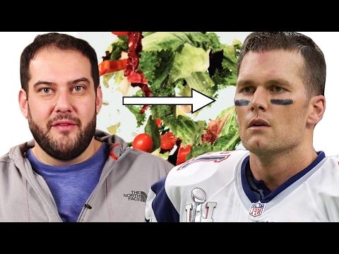 We Tried To Survive Tom Brady's Diet