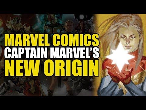 Captain Marvel's New Origin (The Life Of Captain Marvel)