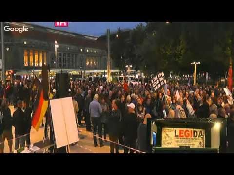LIVE - LEGIDA 14.09.2015  - JETZT ERST RECHT