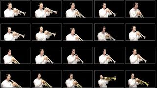 Star Wars: Main Title - 20 Trumpet Multitrack Cover