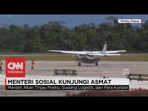 Menteri Sosial, Idrus Marham Kunjungi Asmat