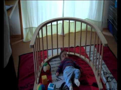 Holz Kletter Bogen : Geschenk für baby kletterbogen youtube