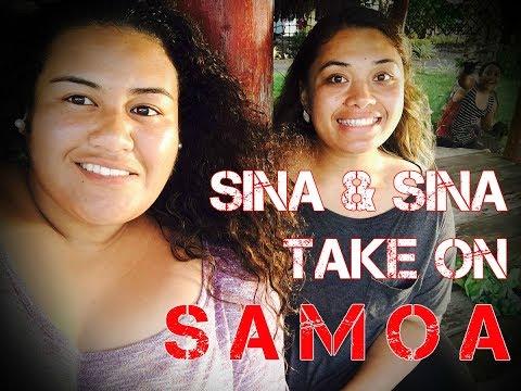 SINA & SINA TAKE ON SAMOA (Part 1)