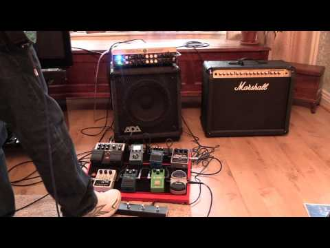 Yamaha thr100hd dialling in dual amps funnycat tv for Yamaha thr10 pedals