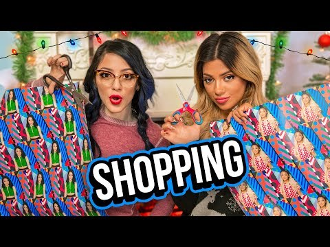 Christmas Shopping Challenge! Niki and Gabi