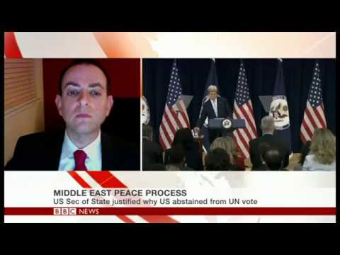 SIS Professor Guy Ziv weighs in on Israeli-Palestinian peace process (BBC World News)
