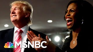 President Donald Trump's Bizarre Response To Omarosa's Claim He's A Racist | The Last Word | MSNBC thumbnail