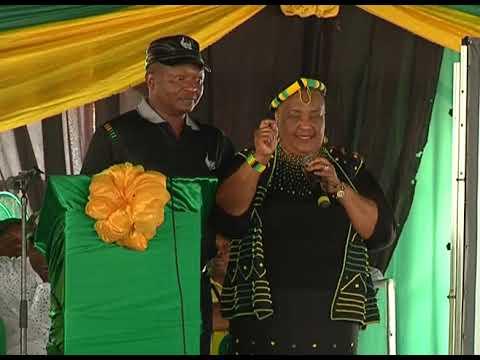 DD Mabuza....ANC Unity PGC