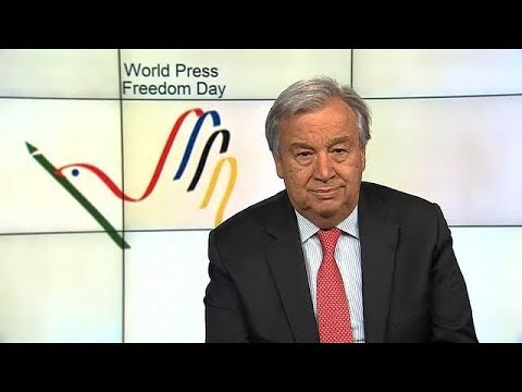 UN Chief on World Press Freedom Day