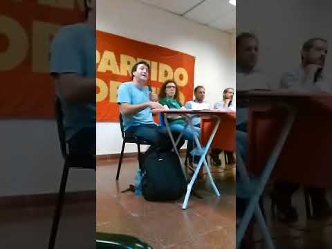 Pablo Eibuszyc, charla debate, Fusión Telecom-Cablevision en Facultad de Sociales parte 1