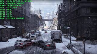 The Division [DX 12 1080p ULTRA SETTINGS] | i5-6600K | GTX 970