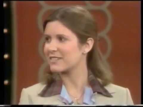 THE MIKE DOUGLAS SHOW 1977 WITH CARRIE FISHER, HARRISON FORD, & MARK HAMILL