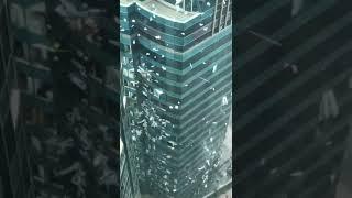 【10號颶風】海逸君綽酒店失守 玻璃窗幾近盡毀滿目瘡痍