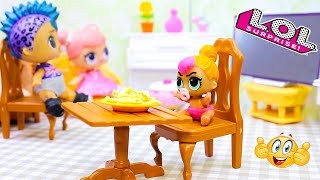 Куклы ЛОЛ сборник - смешные видео с игрушками для детей #15 lol dolls Мультик