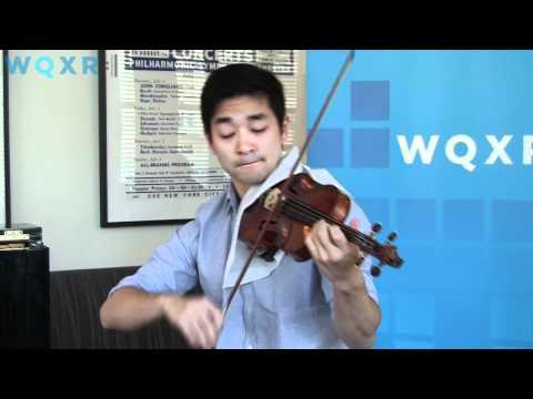 WQXR Café Concert Ryu Goto plays Kreisler - Liebesleid