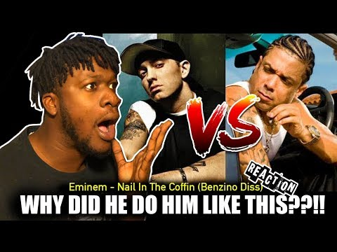 Eminem  Nail In The Coffin Lyrics Benzino Diss REACTION!