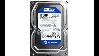 Western digital sata 320gb  wd…