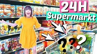 24 Stunden in einem amerikanischen SUPERMARKT 😱| ViktoriaSarina