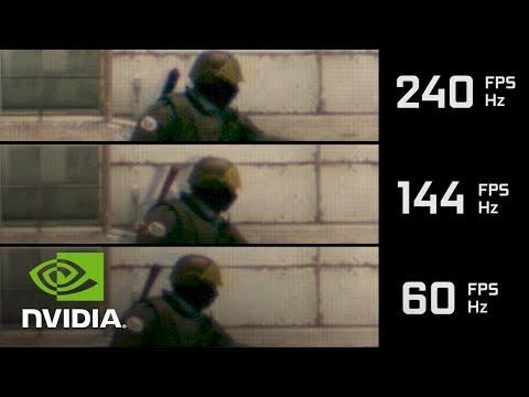 NVIDIA GeForce による 高フレームレート 検証  - 『CS:GO』をスローモーションで比較