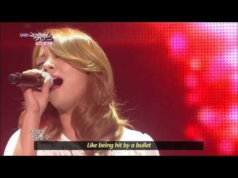 Ailee - Like Being Shot by Gun (2013.06.01) [Music Bank w/ Eng Lyrics]