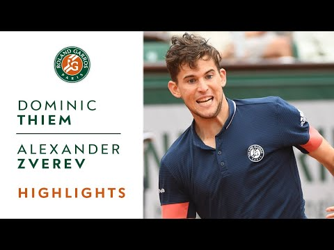 Dominic Thiem vs Alexander Zverev - Quarter-Final Highlights I Roland-Garros 2018