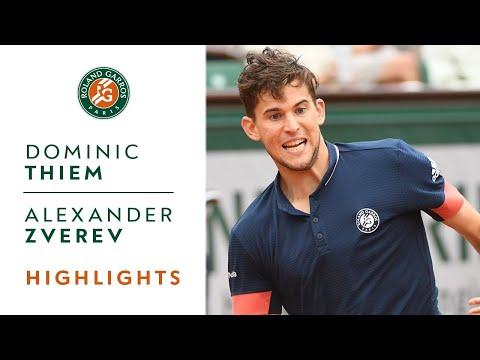 Dominic Thiem vs Alexander Zverev - Quarter-Final Highlights I Roland-Garros 2018