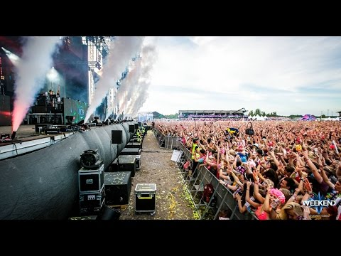 Tiësto, Steve Aoki, Martin Garrix, Showtek @ Weekend festival 2016 Sweden