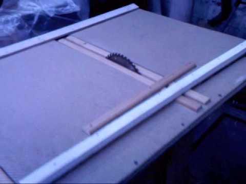 Tutorial como fabricar una sierra de banco casera parte2 - Sierra de banco ...