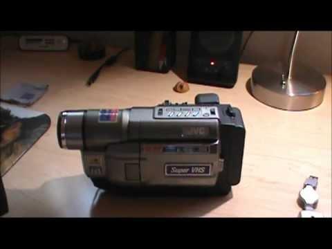 JVC Super VHS Camcorder GR-SXM330