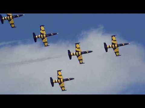 Baltic Bees Jet Team Adaži lidlauks 10 gadi 05.08.2017