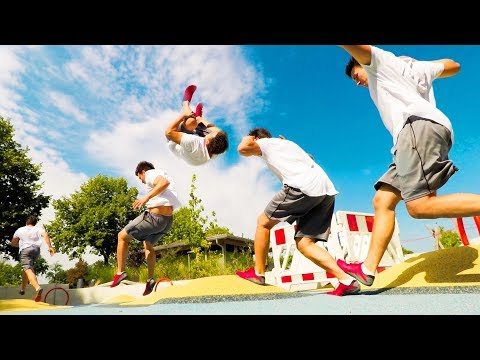 Parkour & Freerunning in my HOMETOWN Solo SESSION - How I train Parkour & Freerunning