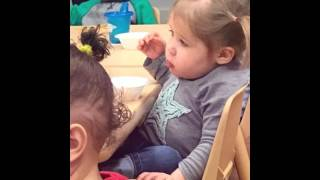 Toddler school moments