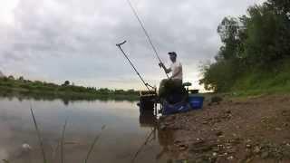 Звіт про рибалку фідером на Дніпрі в д Полыковичи