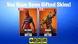 GIFTING SYSTEM RELEASE DATE in Fortnite: Battle Royale! (How To Gift Skins in Fortnite Season 5)