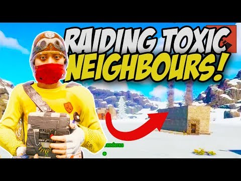 RAIDING TOXIC NEIGHBOURS! THE ULTIMATE REVENGE! - Rust Survival Gameplay thumbnail