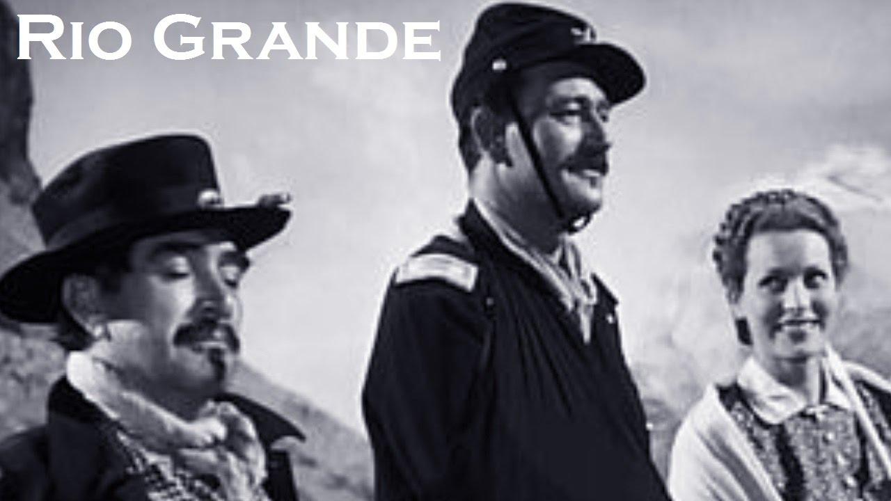 Rio Grande 1950 Casting Du Film Realise Par John Ford Youtube